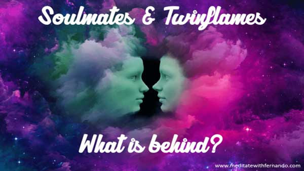 Twin flames, soul mates and other soul connections.