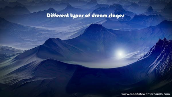 Dream types: Experience the different types of dreams you may experience.