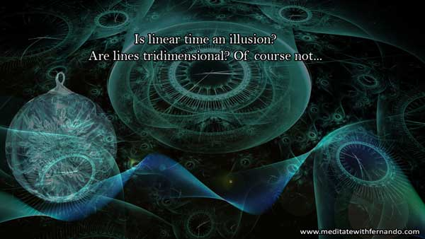 Linear Time: An Illusion. Why is time spheric instead of linear?