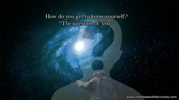 Get to know yourself.