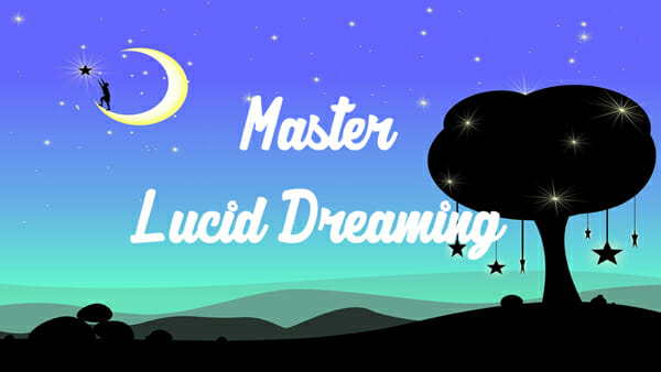 Lucid dreaming course. Heal your recurring nightmares.
