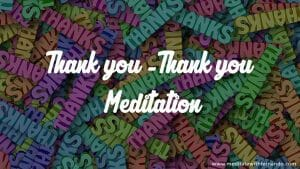 Gratitude meditation to attract abundance.