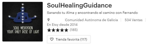 Soul Guidance Etsy Testimonials.