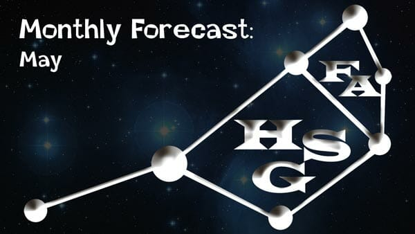 May Forecast 2020: General Forecast ready: Your daily dose of light.