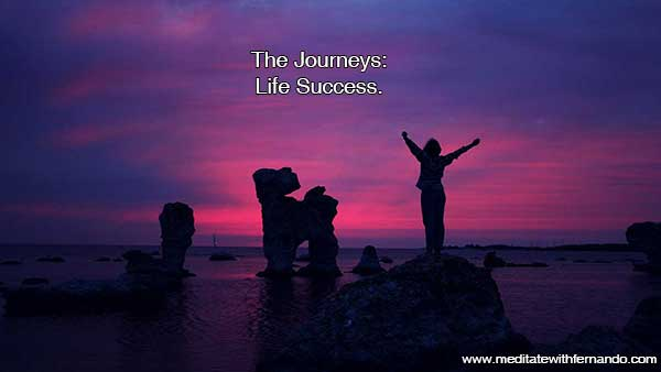 Materialize Life Success now with The Journeys.
