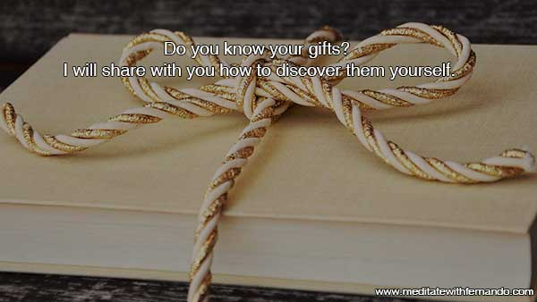 Do you have any gifts? Maybe you do and you don't know it. I will share with you how you can discover them.