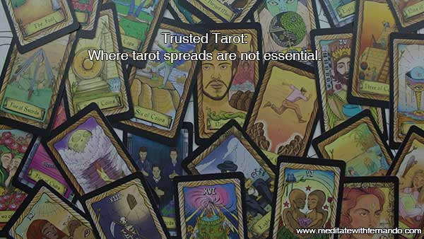 What do you need for a trusted tarot reading? A specific format is not one!