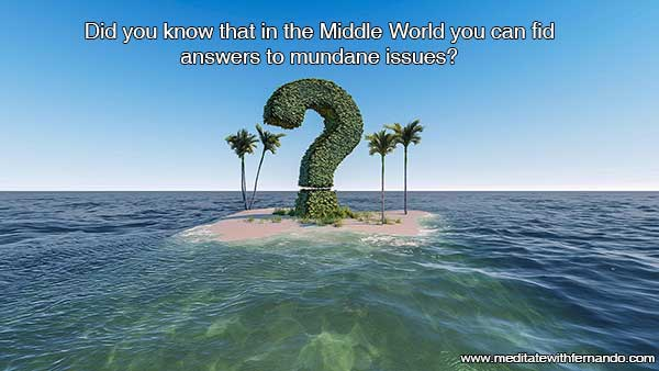 Did you know you can also obtain some specific answers only in the Middle World?  Did you know 2020.