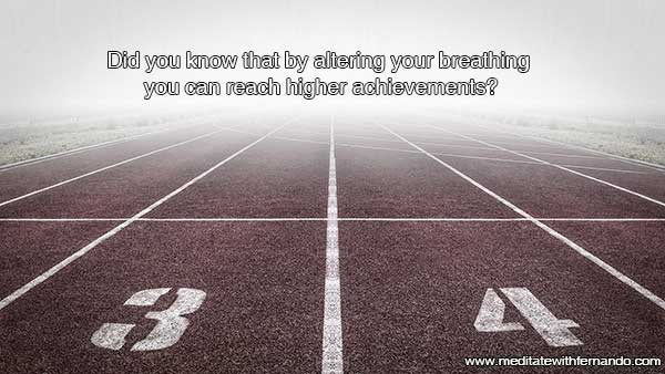 Breathing with goals materializes goals.