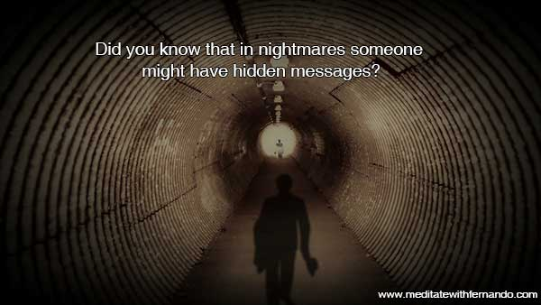 Nightmares have significance.